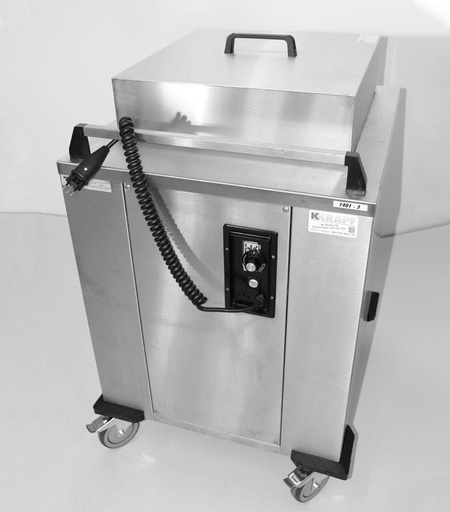 1401-Tassenwärmer Chromstahl Produktbild