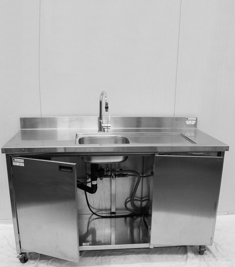 3130 Waschmöbel mit Boiler Produktbild