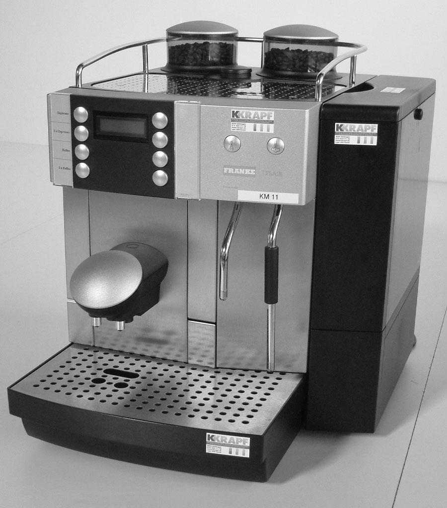 4001-Kaffemaschine Gastro klein Produktbild