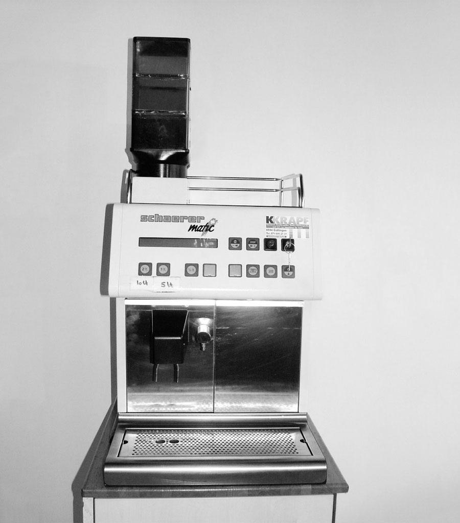 4004-Kaffeemaschine Schaerer Matic Produktbild