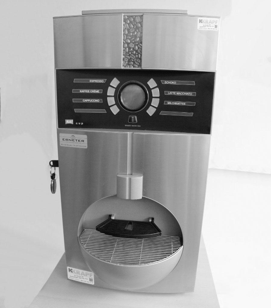 4005 Kaffeemaschine Miletta Cup Produktbild