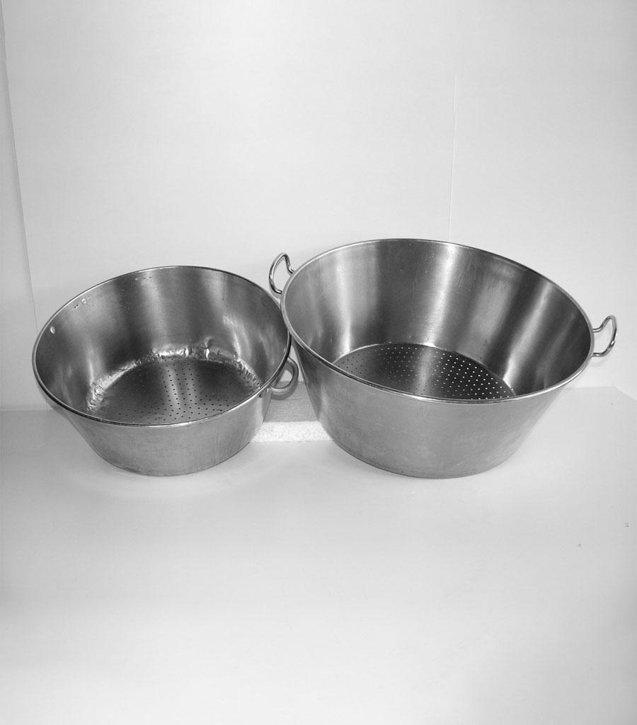 458-Chromstahlschüsseln gelocht Produktbild