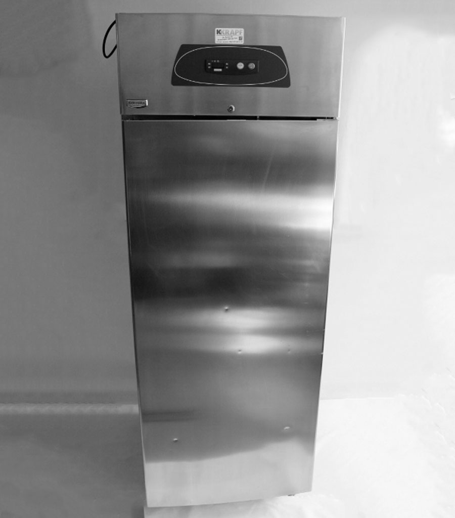7005-Kühlschrank Gastronorm Jumbo chromstahl Produktbild