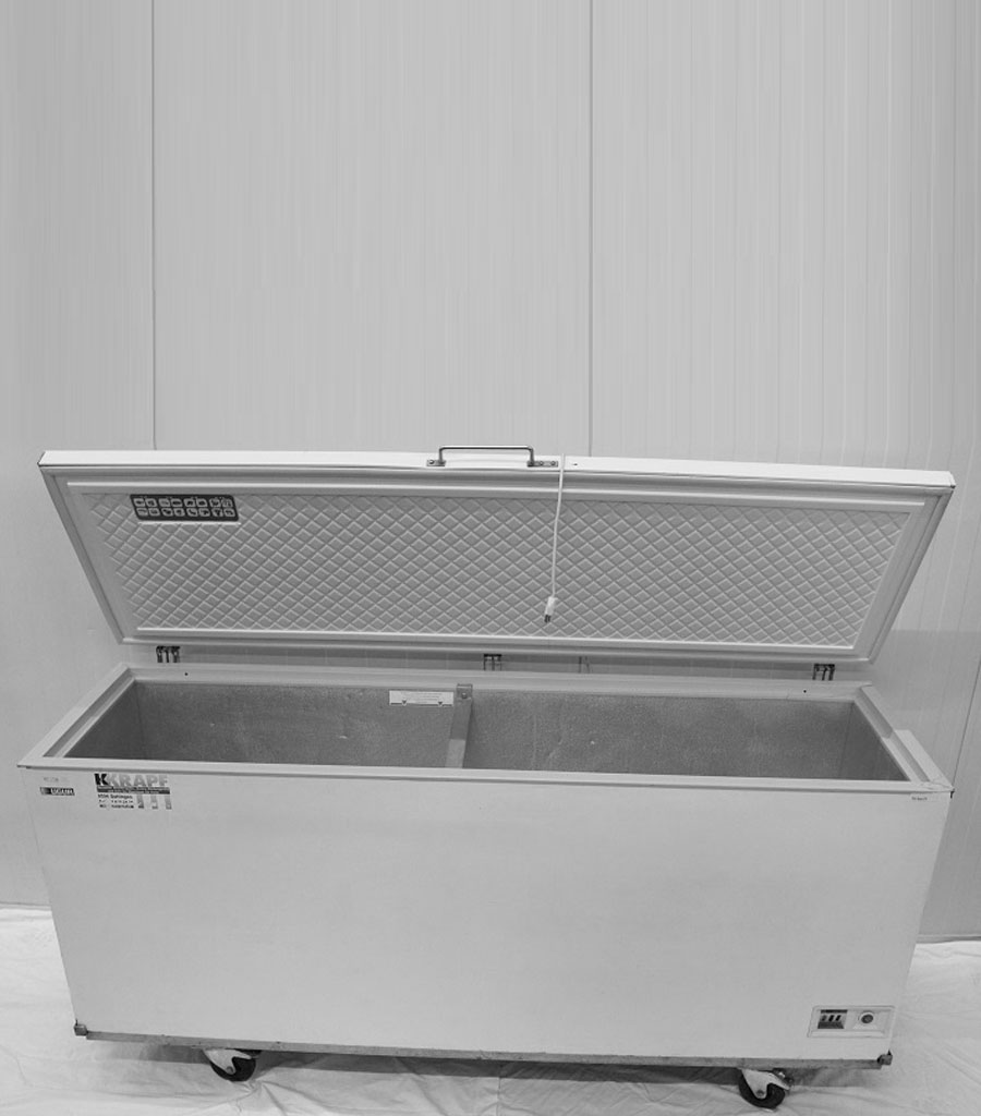 7102-Tiefkühltruhe 500 lit. Produktbild