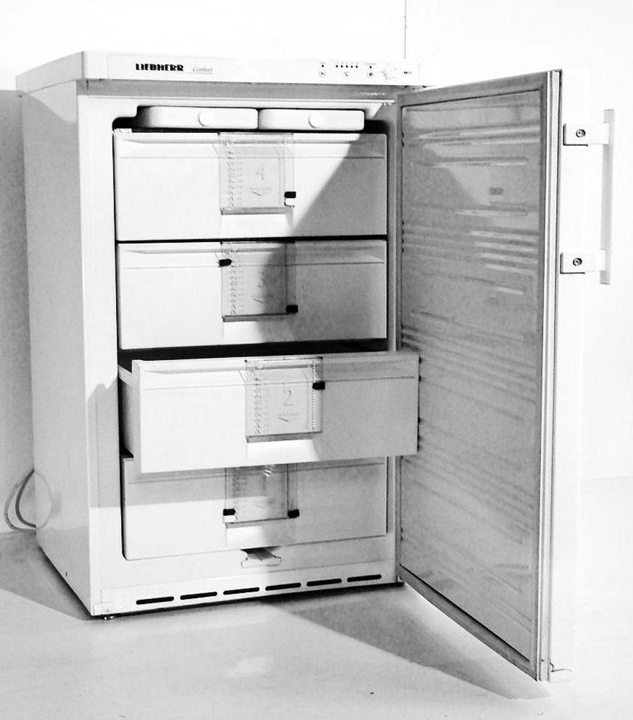7104-Tiefkühlschrank klein Produktbild