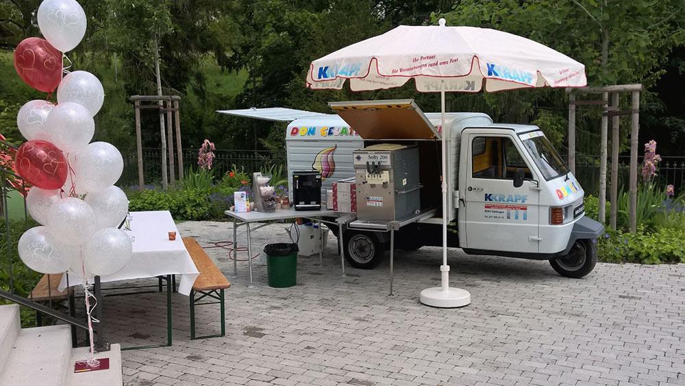 Don Gelati Eiswagen offen